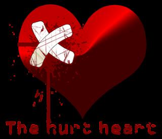 hati yang terluka png