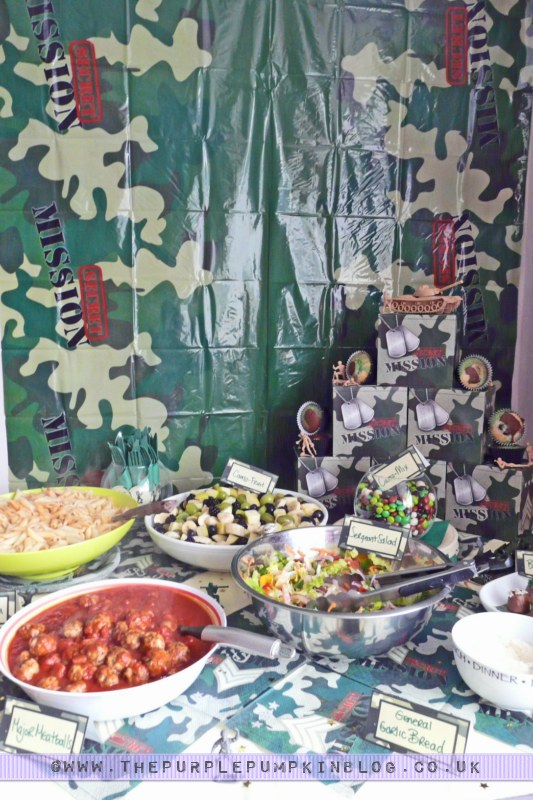 Army Themed Party Decoration Ideas The Purple Pumpkin Blog