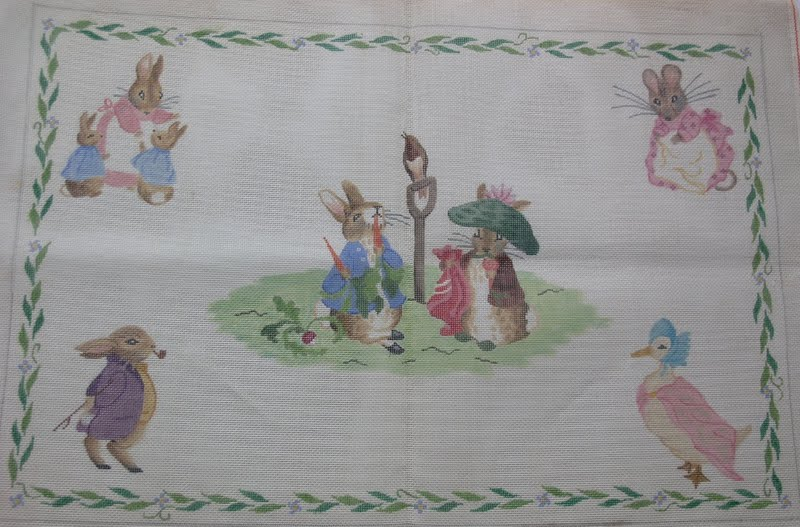 Kate Dickerson Needlepoint Collections The Baby