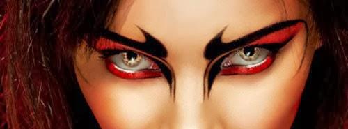 lentes de contacto para la noche de halloween