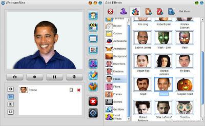 webcam max 7 efek