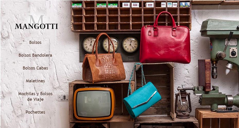 oferta de bolsos de la marca italiana Mangotti