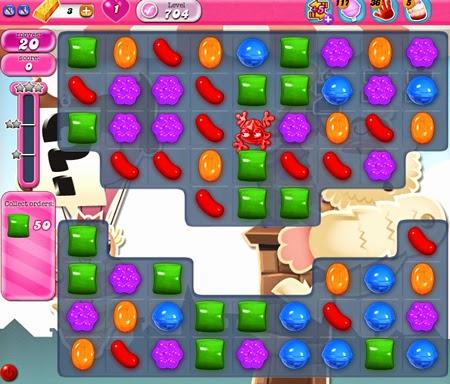 Candy Crush Saga 704