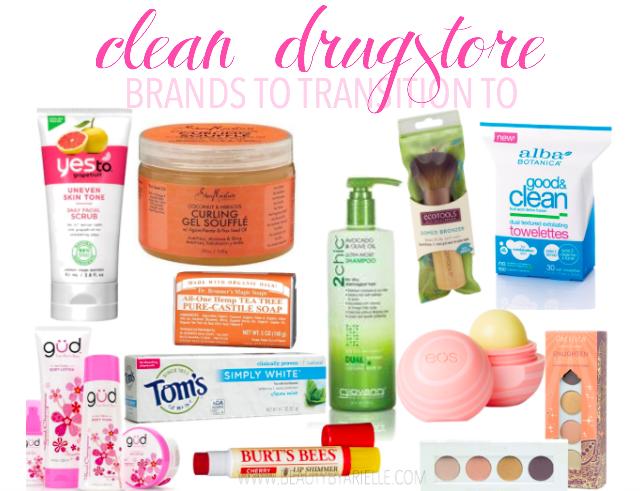 clean drugstore brands