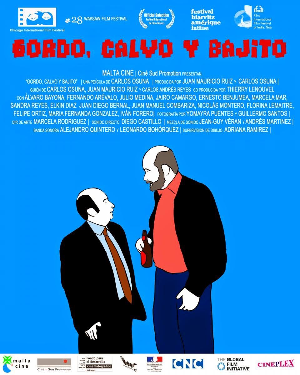 Ver Gordo, Calvo y Bajito (2012) Online