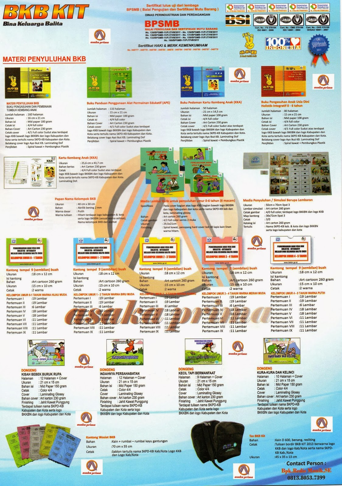 RAB BKB KIT 2014 ~ CV.ASAKA PRIMA|DUTA MEDIA GROUP