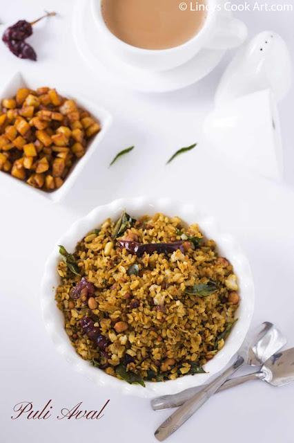 Tamarind poha recipe