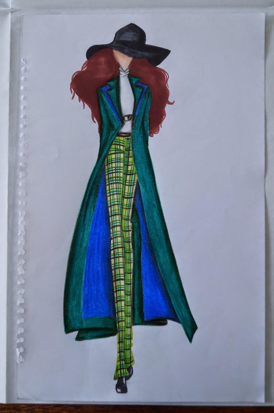 Escuela de dise o de modas alessandra farelli dibujo de modas for Dibujos de disenos de moda