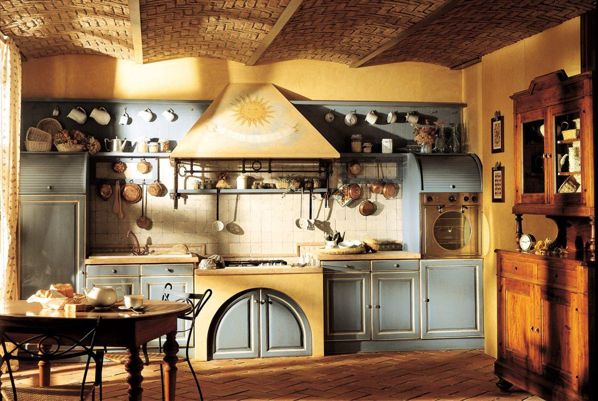Decorando y renovando cocinas con encanto - Cortinas para casa rustica ...
