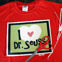 Dr. Seuss T-shirt with free printable