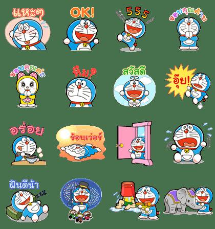 哆啦A夢遊泰國