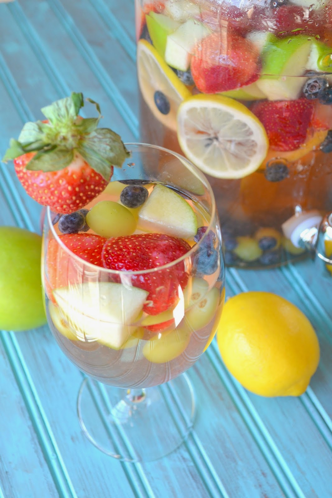 White Riesling Sangria | Easy Easter Recipes You'll Crave All Year Round