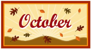 The word October