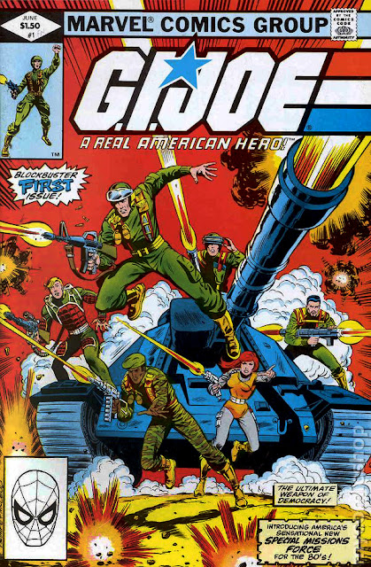 Marvel Comics' GI Joe A Real American Hero Comic Book