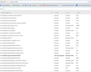 Configurasi Firefox