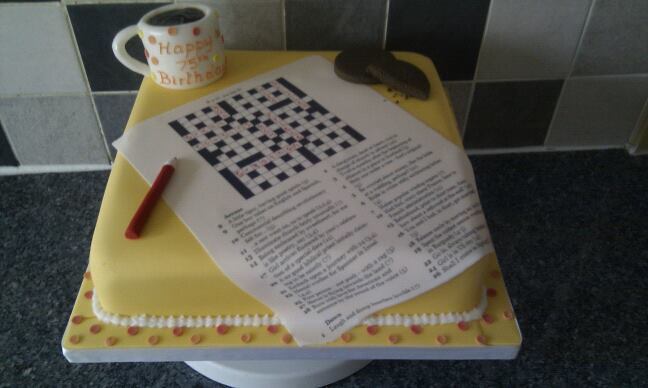 Cake Like Chocolate Biscuits Crossword