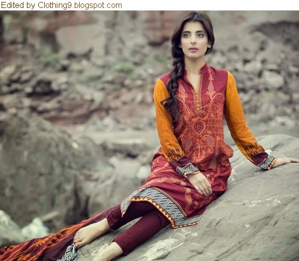 Luxury Linen Collection 2014-15 by Reshma Textiles