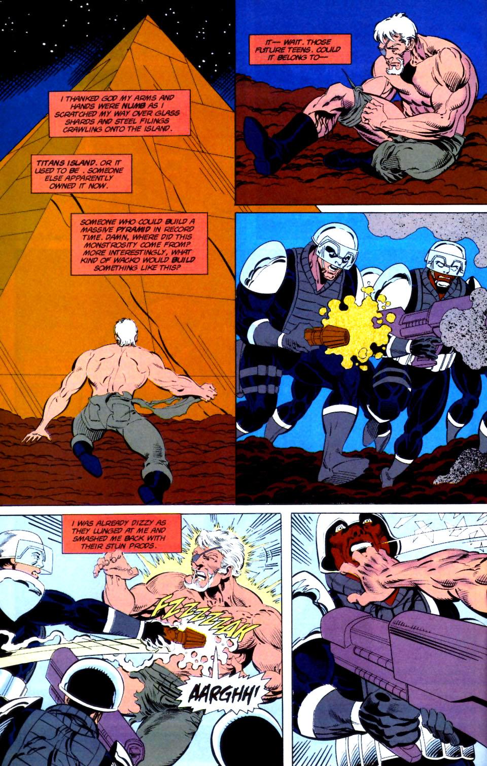 Deathstroke (1991) Issue #16 #21 - English 18