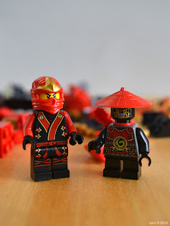 lego ninjago - kai and the stone army scout