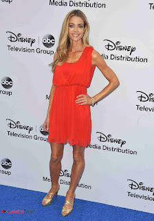 Denise Richards Pictures in tail Dress at Disney Media Networks International Upfronts 0004