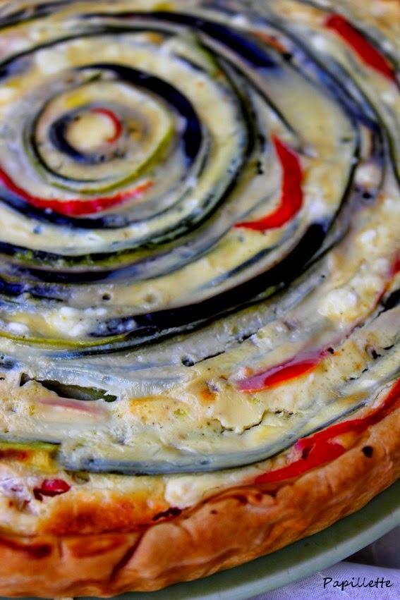 quiche spirale