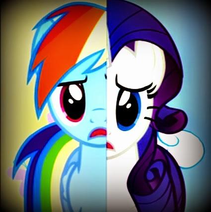 My Little Pony: Friendship is Magic Magic Mystery Cure RainbowDash Rarity Season Three Finale
