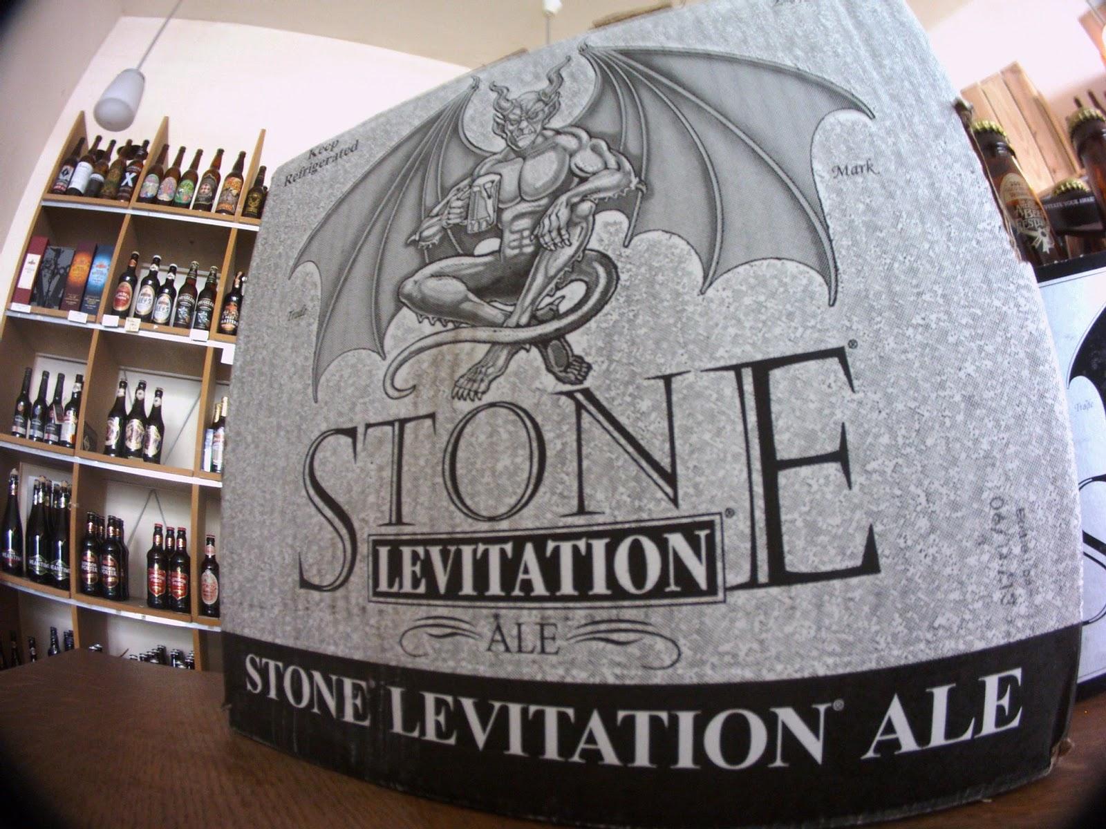 Stone Levitation Ale : Berlin bier shop stone brewing