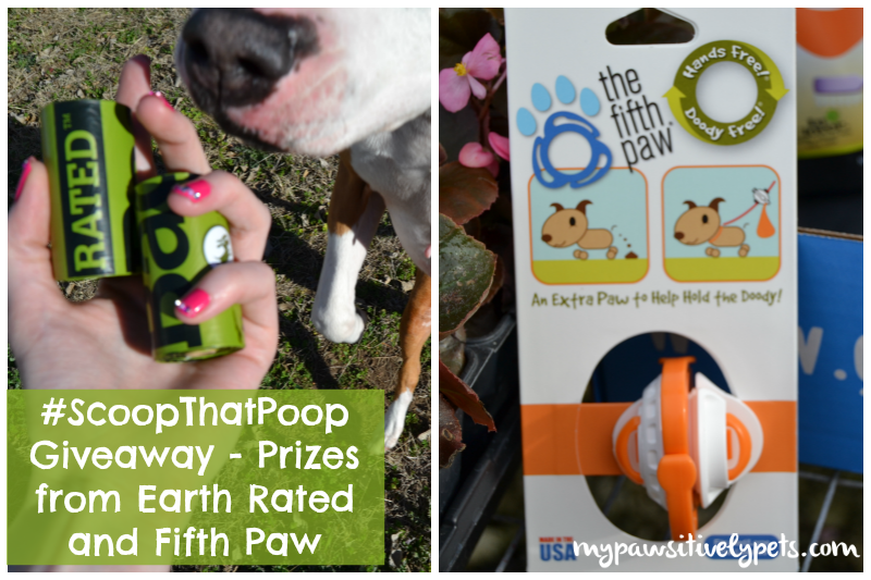 #ScoopThatPoop giveaway from Earth Rated and Fifth Paw