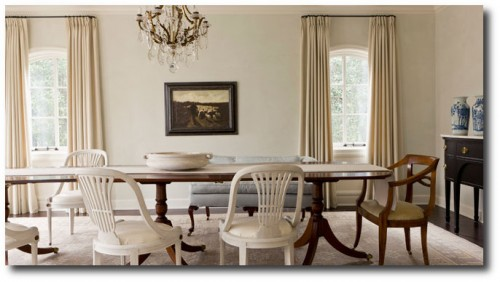 Brocante home white rooms for Darryl carter furniture collection