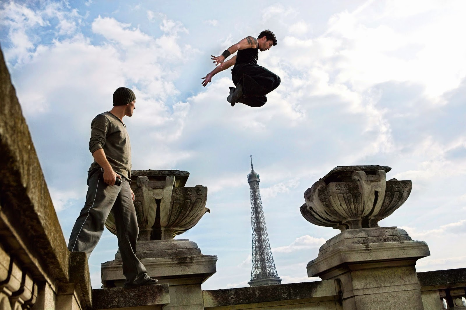 parkour founder david belle district 13 movie photo images pictures