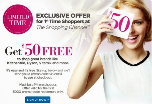The Shopping Channel Free $50 To Spend First Time Shoppers Exclusive Offer