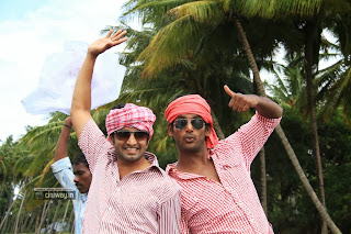 Vishal and Santhanam in Madha Gaja Raja