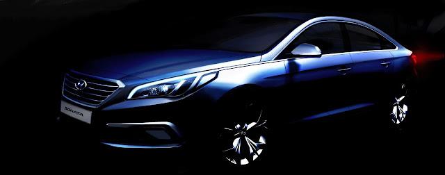 teaser hyundai sonata 2015 otosaigonvncom Hyundai hé lộ thêm nội thất Sonata 2015