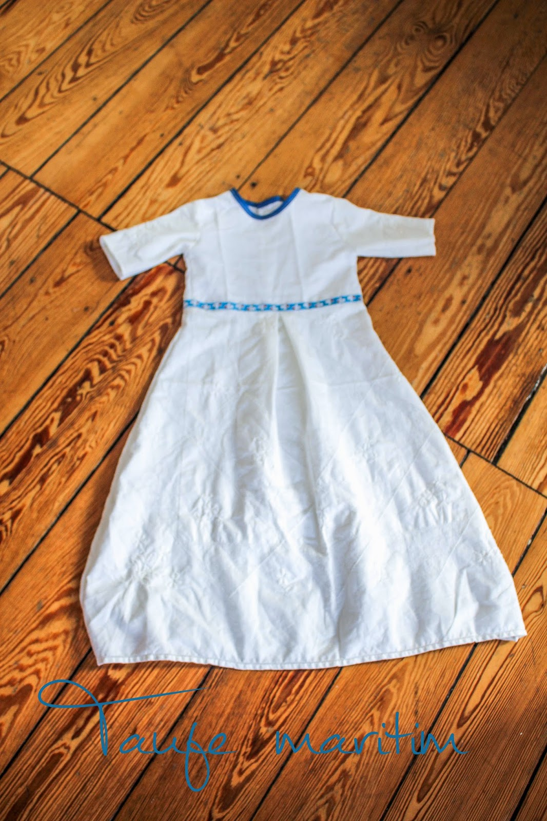 Kleid nahen taufe