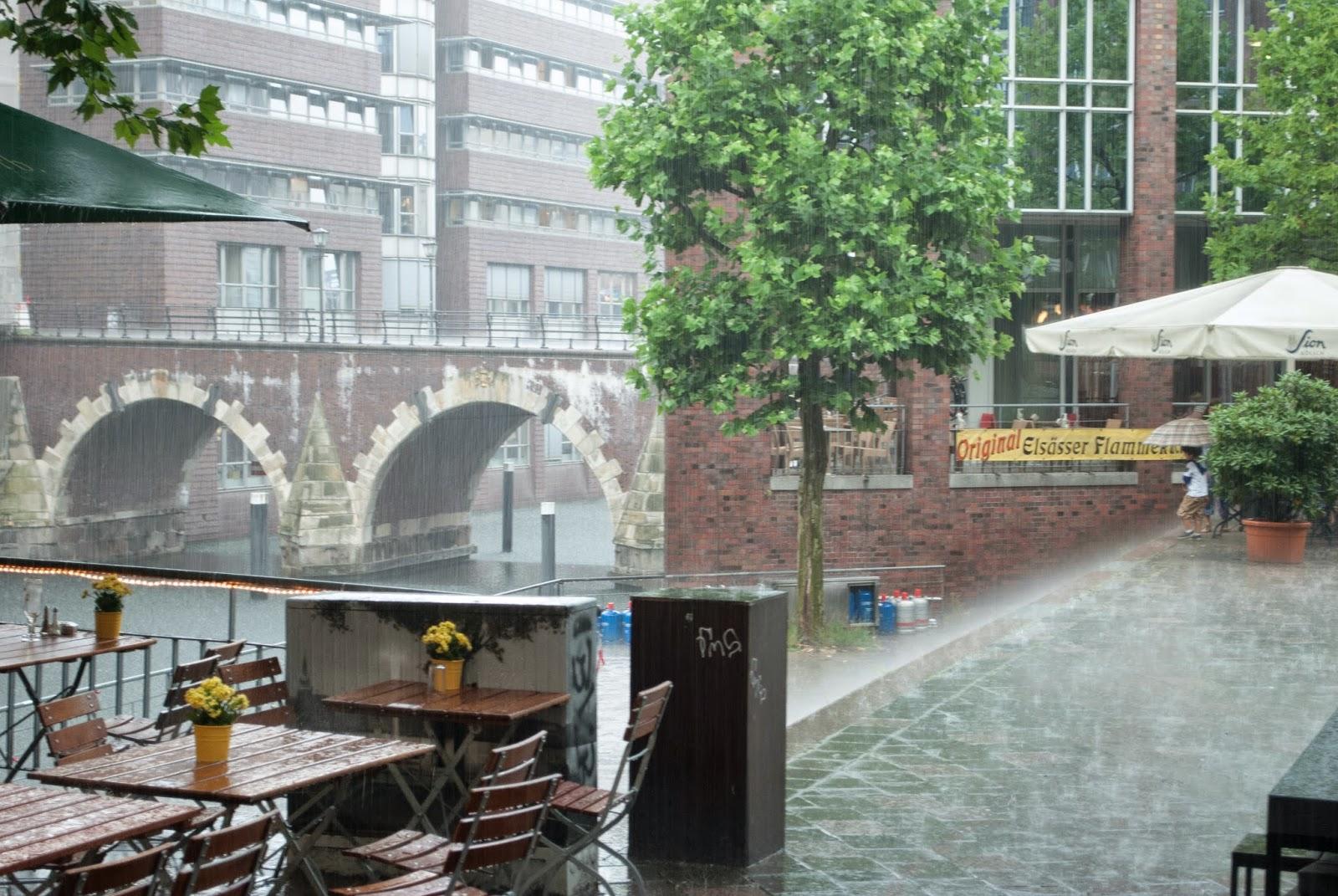 Erste Liebe Bar - Hamburg Sightseeing Tourist Travel Diary Binnenalster Außenalster Hamburg meine Perle Bar Mittagspause Snack Panini schlechtes Wetter