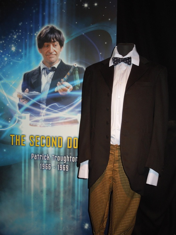 Patrick Troughton Second Doctor Who costume