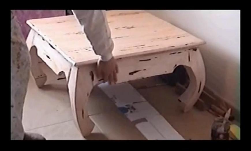 Brico y tube diy como hacer muchas ideas y consejos - Pintar una mesa de madera ...