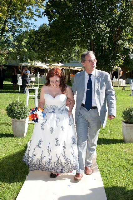 matrimonio con lo sponsor chiara e maurizio arrivo sposa