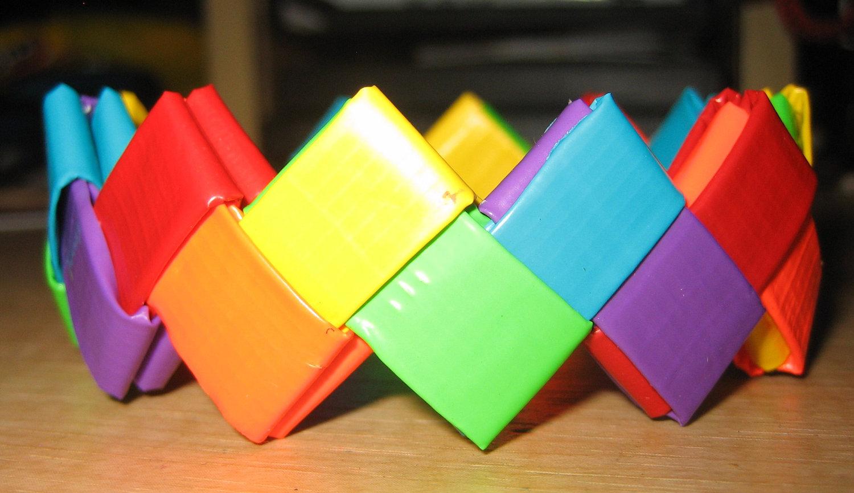 Colorful Binding Tape Bracelets