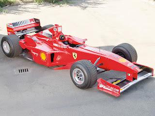 foto gambar mobil balap ferari formula 1