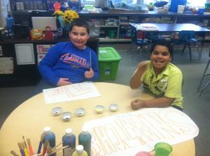 Preparing our Crafts!