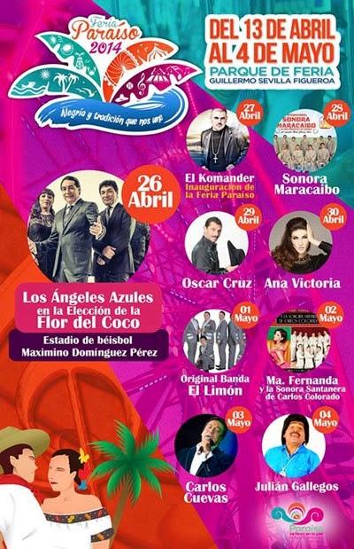 Programa Feria Paraíso 2014 Tabasco