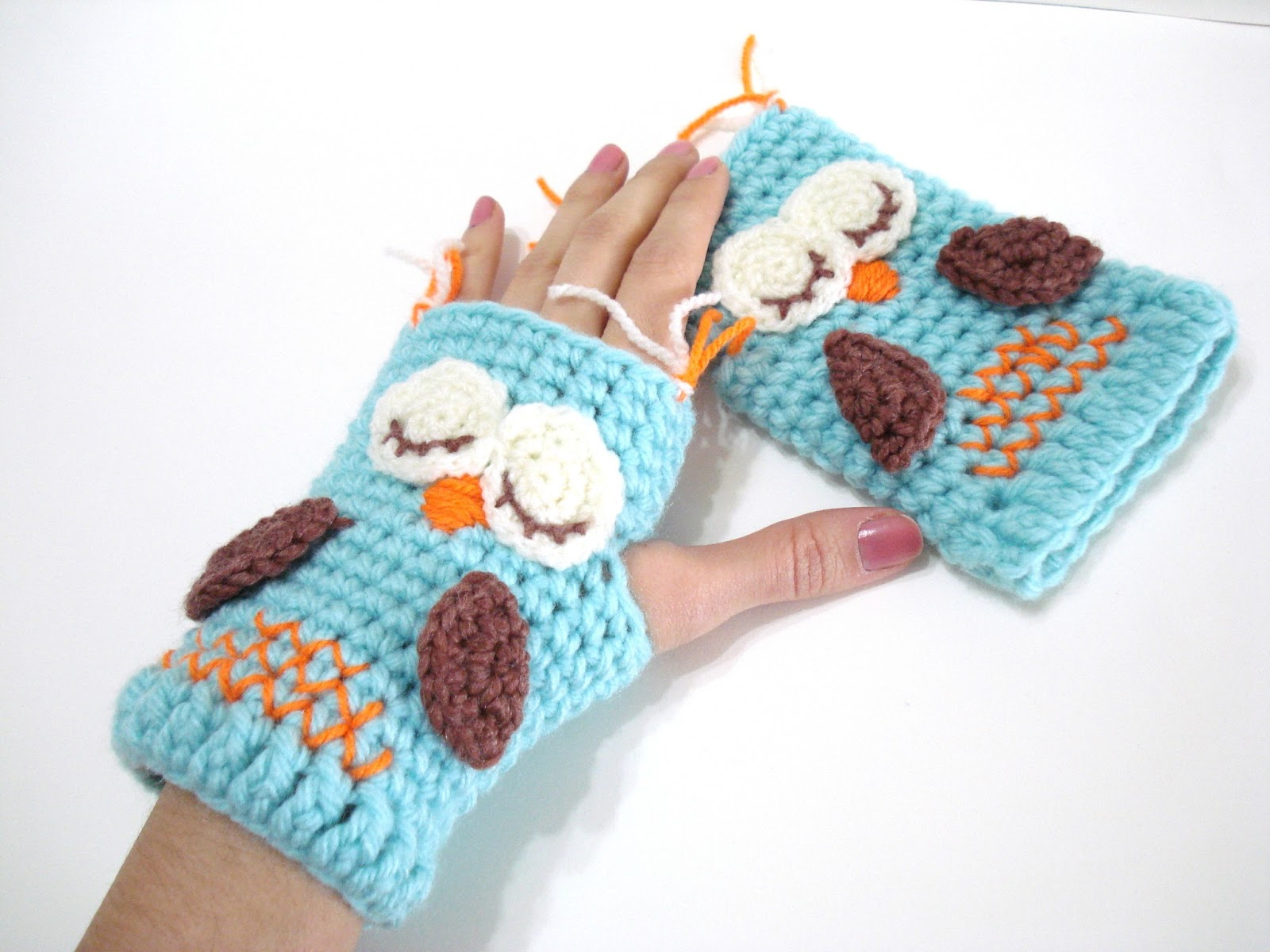 Crochet Tutorial Owl : ... Pattern, Owl Gloves Pattern, Tutorial, Crochet Tutorial, Owl Gloves