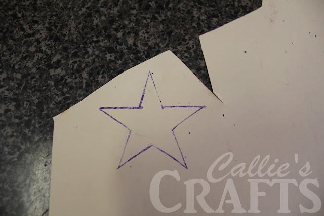 star stencil transfer