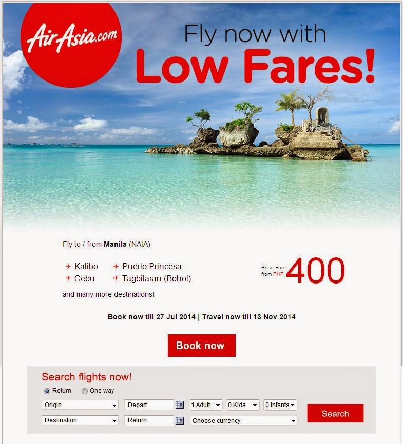 AIR ASIA PHP400