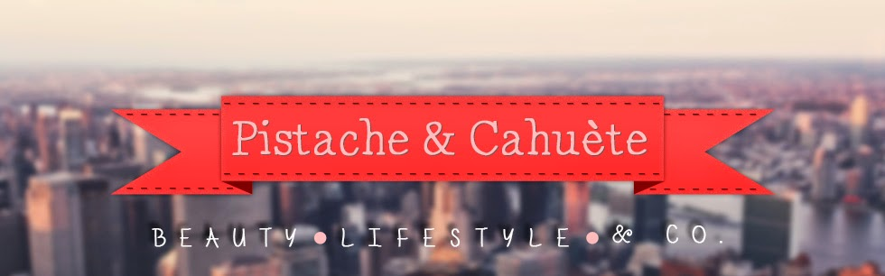 Pistache And Cahuète, Beauty Blog and co.