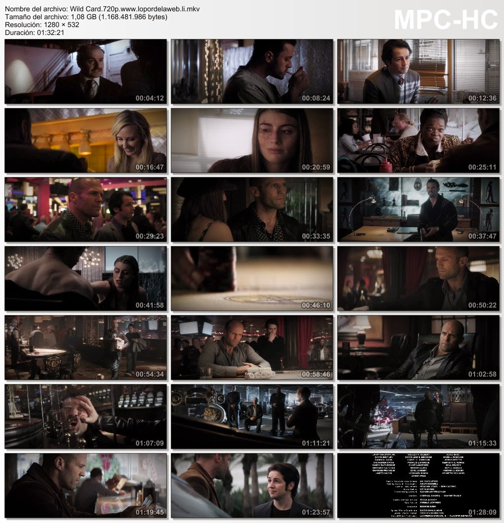 Wild Card (2015) BRrip 720p Subtitulada