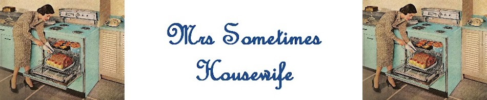 Mrs Sometimes Housewife