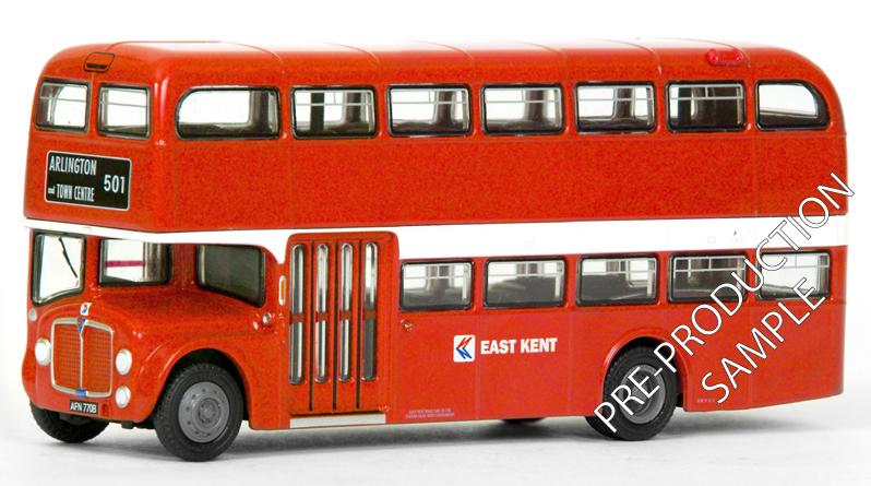 EFE PRE-PRO SAMPLE 36903 - Park Royal Regent V - East Kent NBC Registration number AFN 770B, fleet number 7770. Operating route 501 to Arlington and Town Centre.  Scheduled for a March release