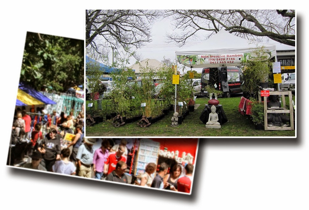 Bamboo creations victoria attending gisbourne market event